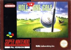 Super Nintendo Hal's Hole In One Golf
