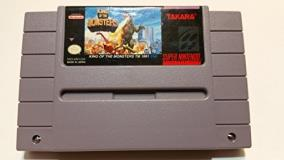 Super Nintendo King Of The Monsters