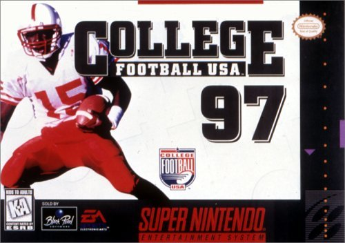 Super Nintendo College Football 97