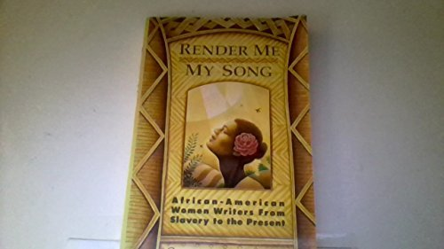 Sandi Russell Render Me My Song African American Women Writers