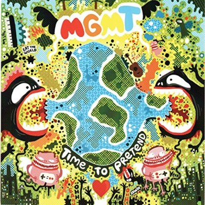 Mgmt Time To Pretend (glow In The Dark Vinyl)