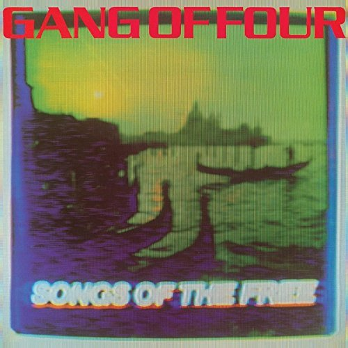 Gang Of Four Songs Of The Free 180 Gram Blue Purple Yellow Splatter Vinyl Black Friday Exclusive