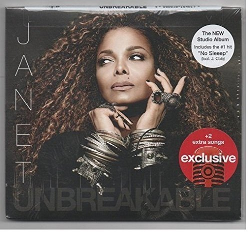 Janet Jackson Unbreakable Digipak Cd+2 Bonus Tracks 2015 Target
