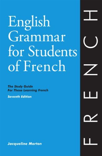 Jacqueline Morton English Grammar For Students Of French