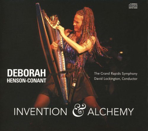Deborah Henson Conant With The Grand Rapids Sympho Invention & Alchemy CD