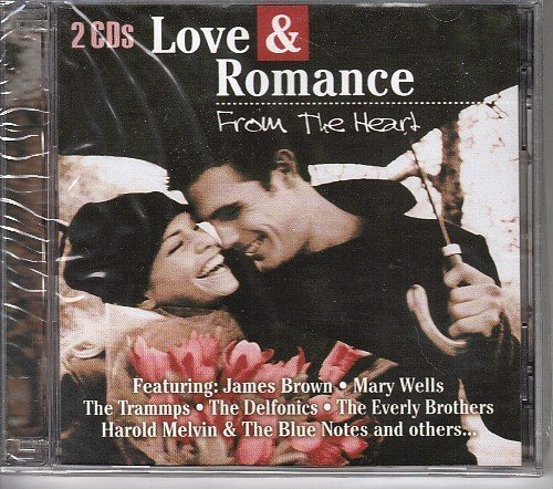 Various Import Love & Romance From The Heart 2 Cd's