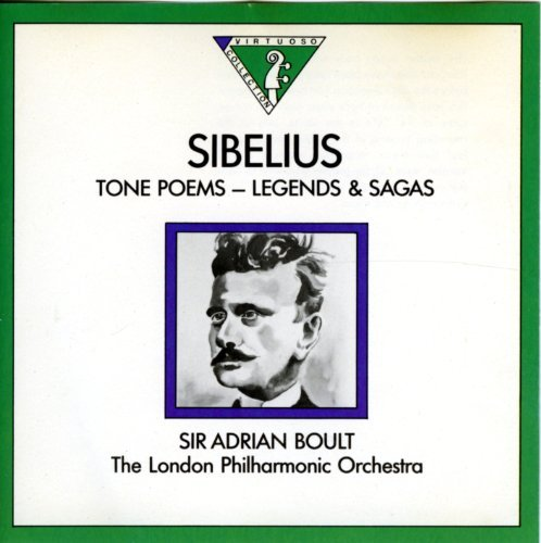 Jean Sibelius Sir Adrian Boult London Philharmonic Sibelius Tone Poems Legends And Sagas (en Saga