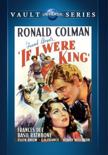 Ronald Colman Basil Rathbone Frank Lloyd If I Were King DVD Mod This Item Is Made On Demand Could Take 2 3 Weeks For Delivery