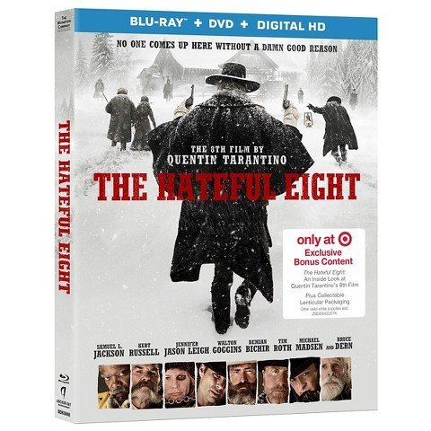 The Hateful Eight Jackson Russell Leigh Lenticular Slip Cover