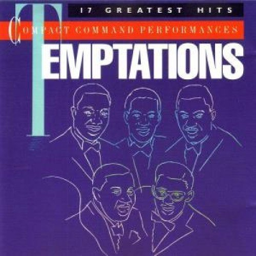 Temptations Compact Command Performances 17 Greatest Hits