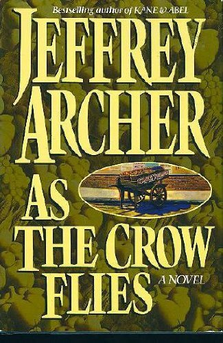 Jeffrey Archer As The Crow Flies