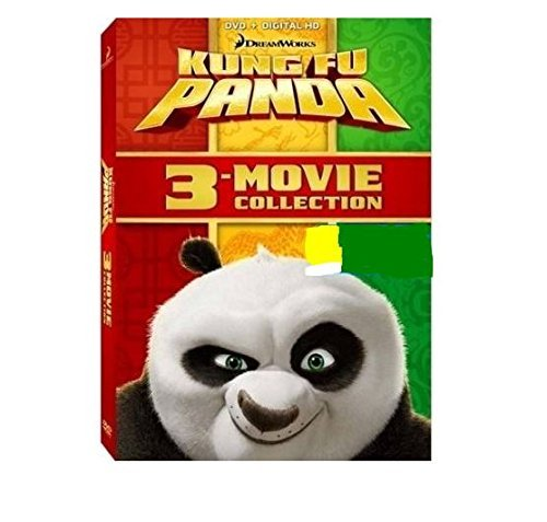 Kung Fu Panda Complete Movie Collection DVD Dc Pg