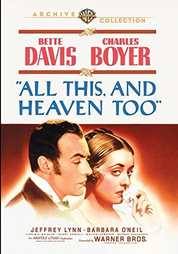 All This & Heaven Too All This & Heaven Too DVD Mod This Item Is Made On Demand Could Take 2 3 Weeks For Delivery