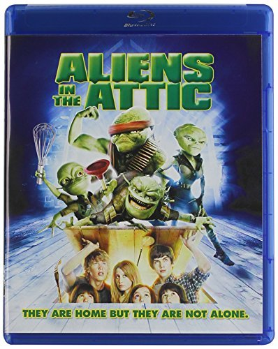 Aliens In The Attic Tisdale Richter Nealon Meadows Blu Ray Pg