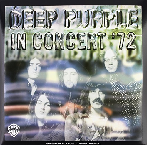 Deep Purple Live In Concert '72 2lp 180 Gram Vinyl Bonus 7""