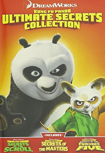 Kung Fu Panda Ultimate Secrets DVD