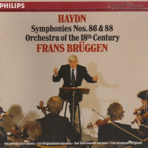 Joseph Haydn Frans Bruggen Orchestra Of The 18th C Haydn Symphonies No. 86 & No. 88