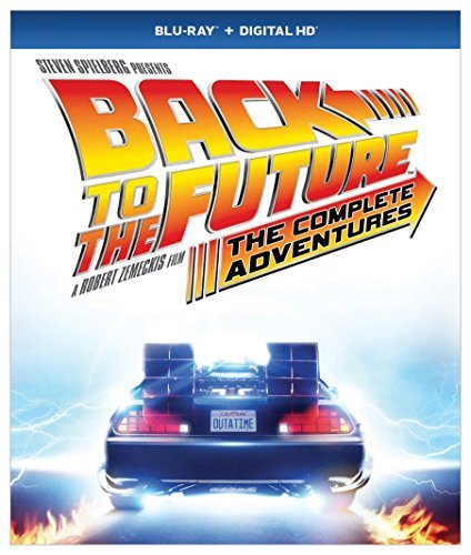 Back To The Future The Complete Adventures Blu Ray