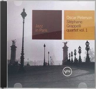 Oscar Peterson Stephane Grappelli Jazz In Paris Oscar Peterson Stephane Grappelli