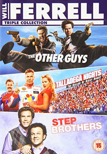The Other Guys Step Brothers Talladega Nights Triple Feature