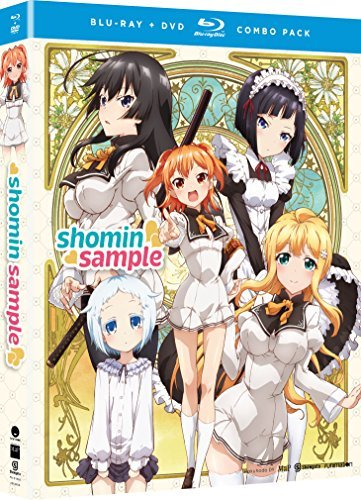 Shomin Sample The Complete Series Blu Ray DVD Ur