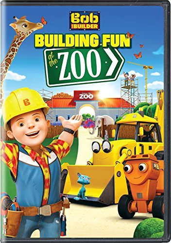 Bob The Builder Building Fun At The Zoo DVD