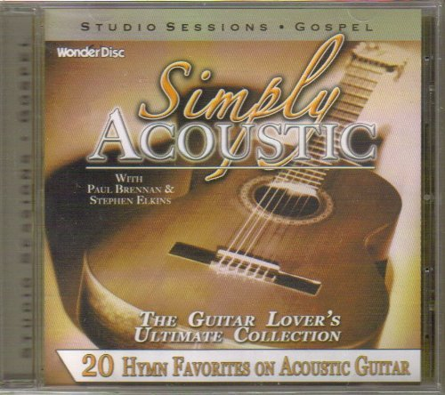 Simply Acoustic 20 Hymn Favorites On Acoustic Guitar