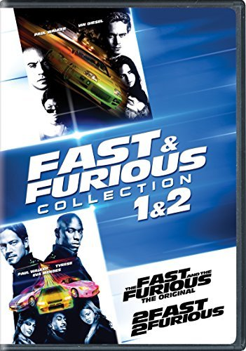 Fast & Furious 1 & 2 Collection DVD Pg13