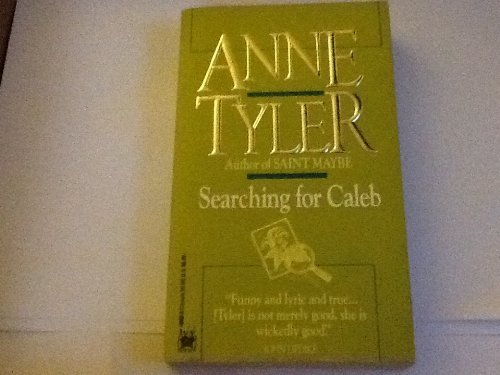 Anne Tyler Searching For Caleb