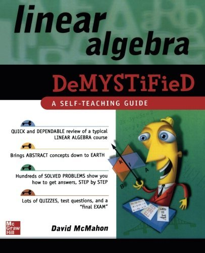 David Mcmahon Linear Algebra Demystified