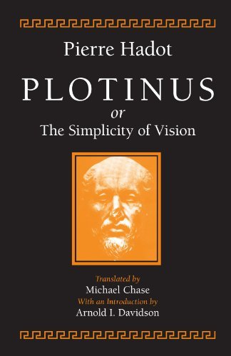 Michael Chase Pierre Hadot Plotinus Or The Simplicity Of Vision