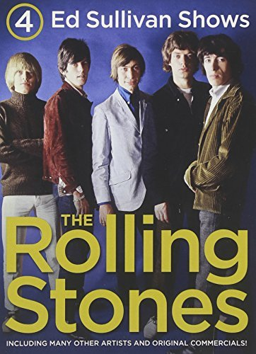 Rolling Stones 4 Ed Sullivan Shows Starring T 2 DVD