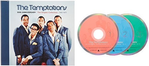 Temptations 50th Anniversary Singles Coll 3 CD
