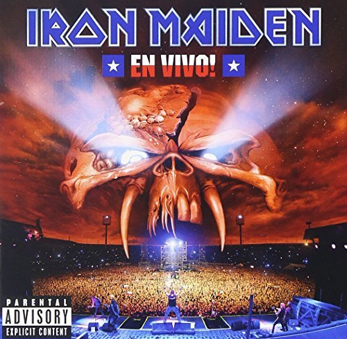 Iron Maiden En Vivo! Explicit Version 2 CD