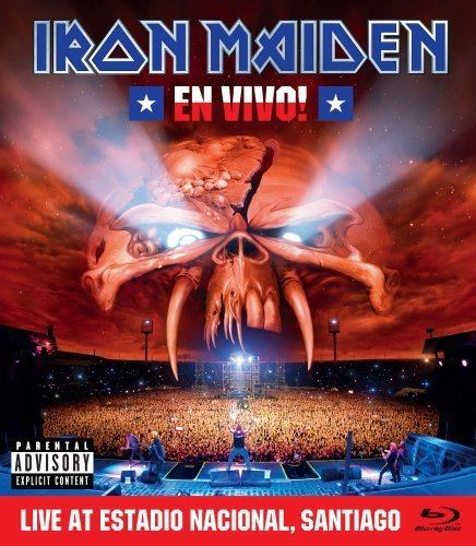 Iron Maiden En Vivo! Blu Ray Explicit Version Incl. Bonus Blu Ray