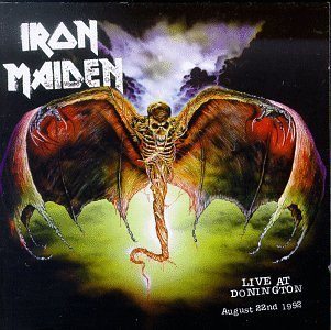 Iron Maiden Live At Donnington Enhanced CD 2 CD Set