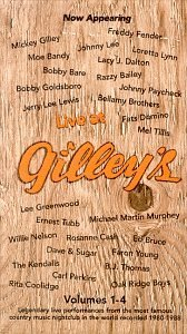 Live At Gilley's Vol. 1 4 Live At Gilley's 2 CD 2 Cass Set Live At Gilley's