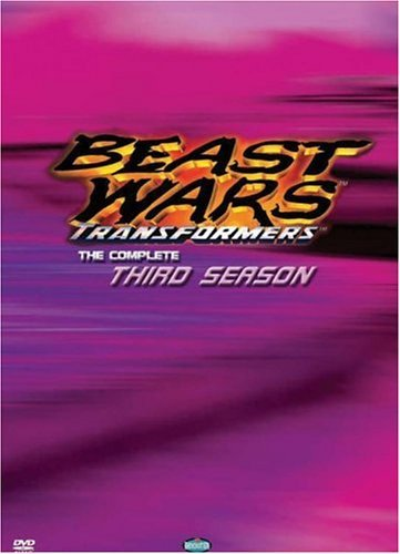 Beast Wars Transformers Complete Third Season Clr Chnr 2 DVD Set