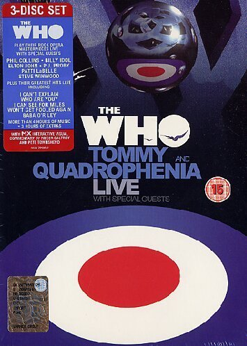 Who Tommy & Quadrophenia Live 3 DVD