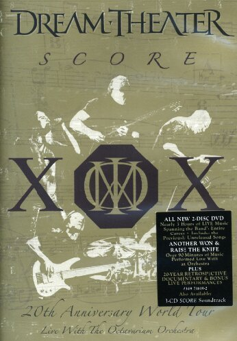 Dream Theater Score 2 DVD