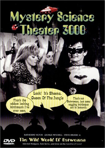 Mystery Science Theater 3000 Wild World Of Batwoman Clr Bw Nr