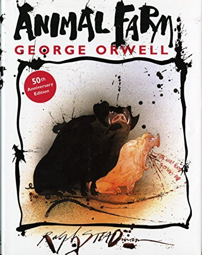 George Orwell Animal Farm A Fairy Story 0050 Edition;anniversary