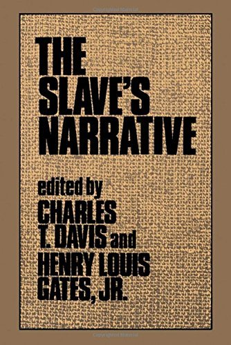 Charles T. Davis The Slave's Narrative