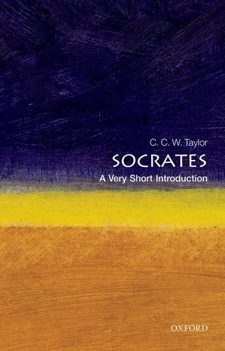 C. C. W. Taylor Socrates A Very Short Introduction Revised