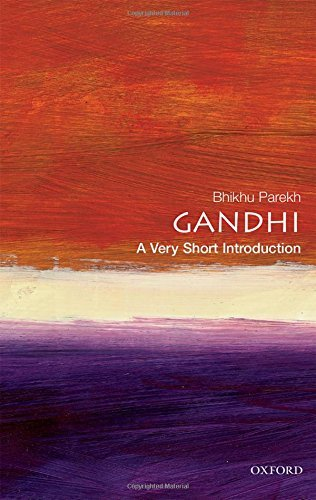 Bhikhu Parekh Gandhi A Very Short Introduction