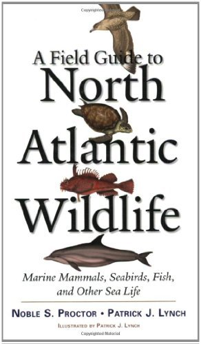 Noble S. Proctor A Field Guide To North Atlantic Wildlife Marine Mammals Seabirds Fish And Other Sea Lif