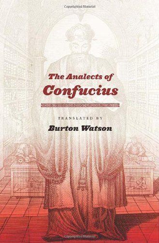 Burton Watson The Analects Of Confucius