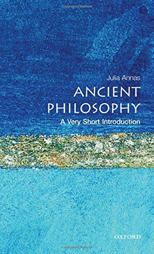 Julia Annas Ancient Philosophy A Very Short Introduction
