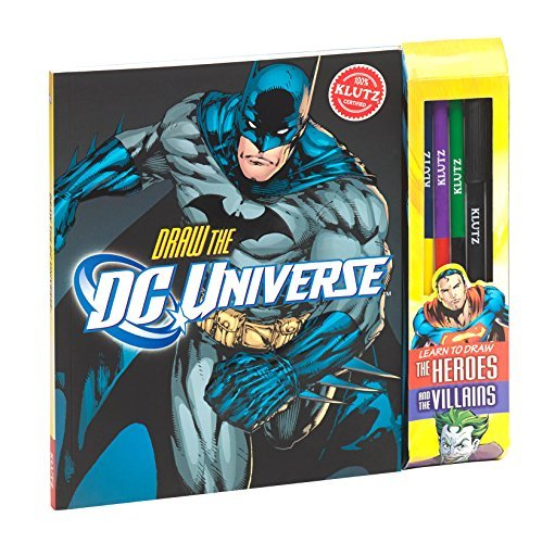 Kaitlyn Nichols Draw The Dc Universe [with Pens Pencils And Marker