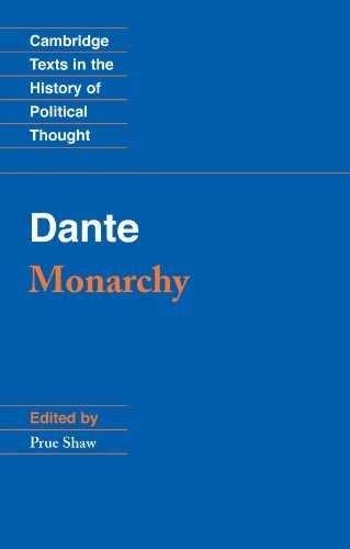 Dante Dante Monarchy 0010 Edition;revised